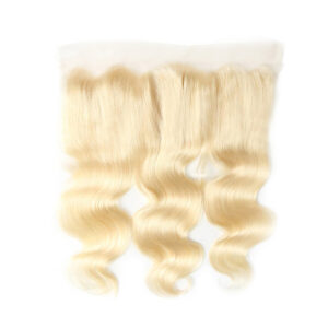 13X4 613 Blonde Body wave Lace Frontal Closure